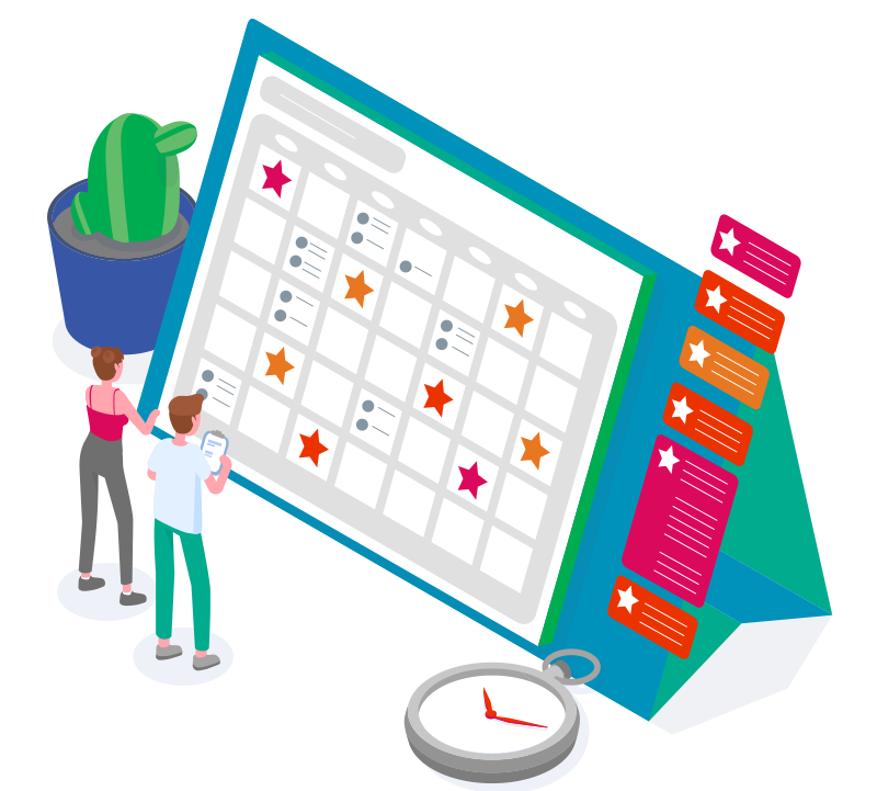 Personalise, schedule & repeat your text campaigns